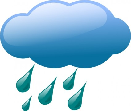 Rain Cloud Clip Art Free Vector In Open Office Drawing Svg    Svg