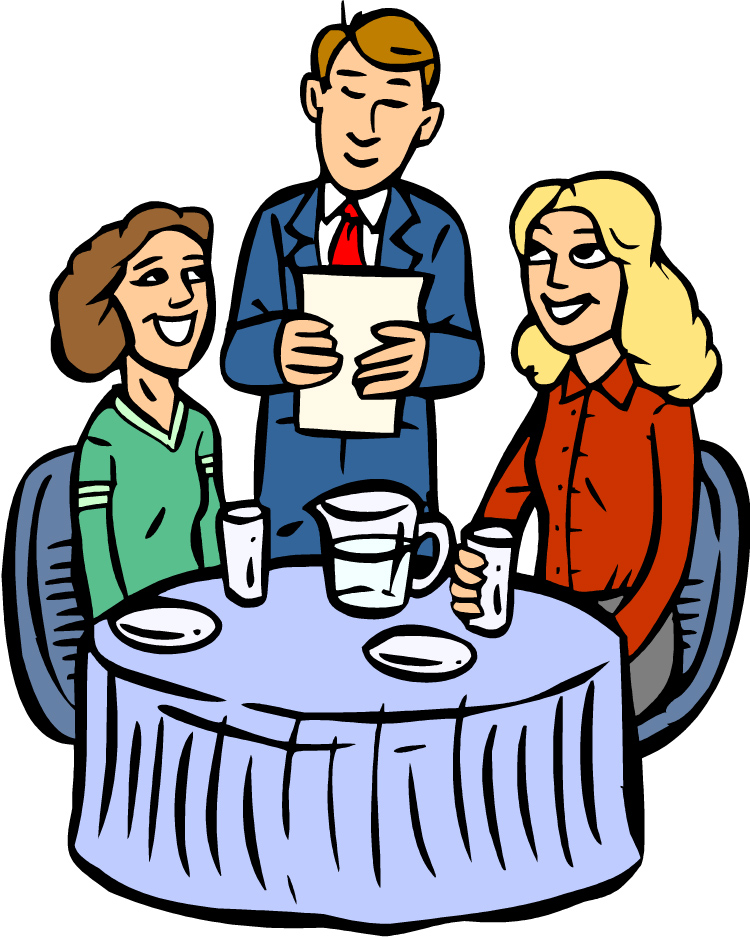 Restaurant Table Clipart - Clipart Suggest