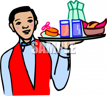 Food Server Clipart - Clipart Kid