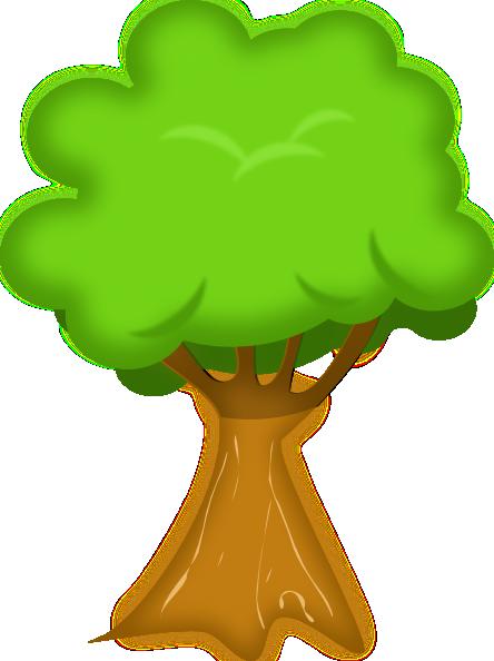 Soft Trees Clip Art At Clker Com Vector Clip Art Online Royalty