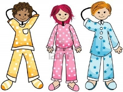 Pajama Day Clipart - Clipart Kid