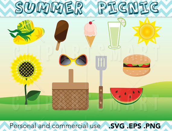 spring picnic clipart - photo #39