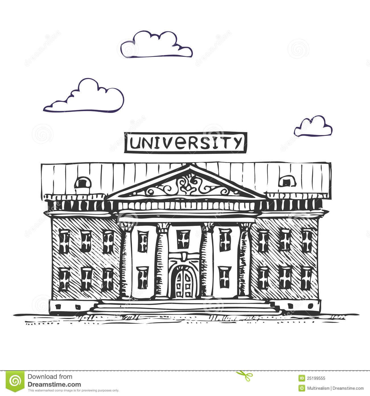 university campus clipart - photo #17