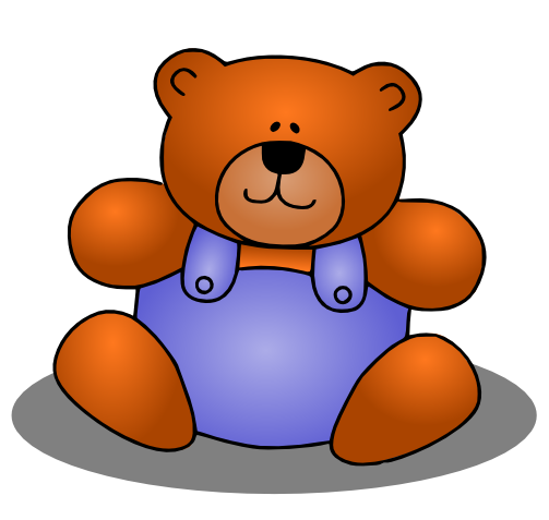 Cute Teddy Bear Clipart - Clipart Kid