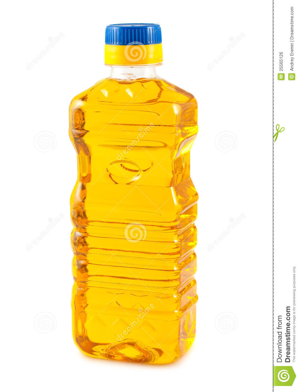 Vegetable Oil In Plastic Bottle Royalty Free Stock Image   Image