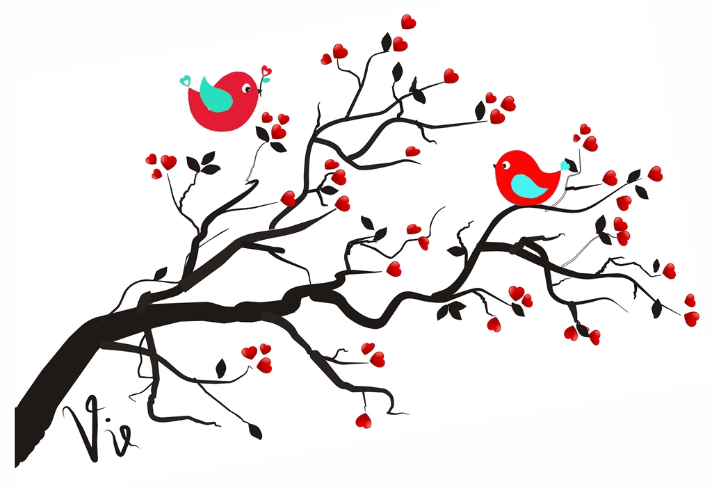 Love Tree Clipart - Clipart Kid