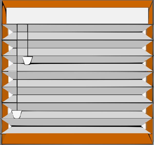 Window Blinds Clip Art