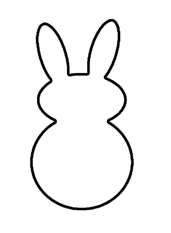 Displaying  17  Gallery Images For Easter Bunny Outline