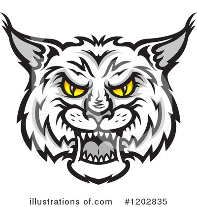 Free  Rf  Bobcat Clipart Illustration  1202835 By Seamartini Graphics