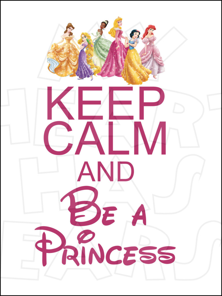 Keep Calm Clipart Keep Calm And Be A Princess