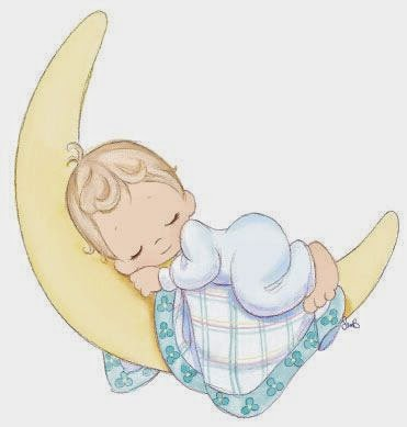 Posted In Sleeping Baby Clip Art