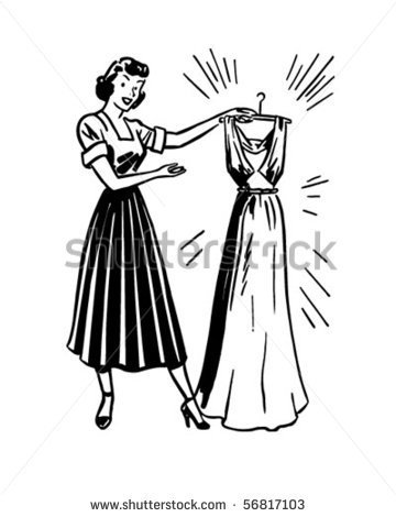 1950s Housewife Stock Photos Illustrations And Vector Art
