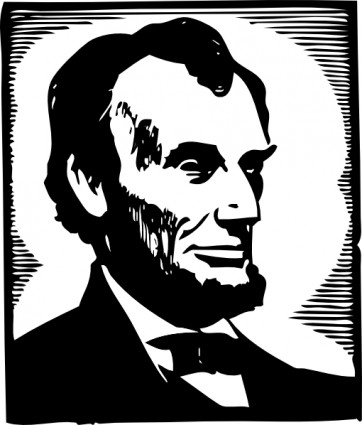 Abraham Lincoln Clip Art Free Vector In Open Office Drawing Svg    Svg