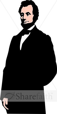 Abraham Lincoln   Lay Holiday Clipart