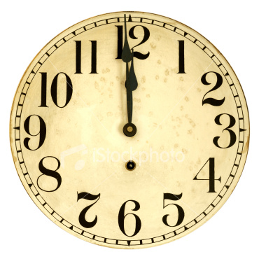 Antique Clock Face Clipart