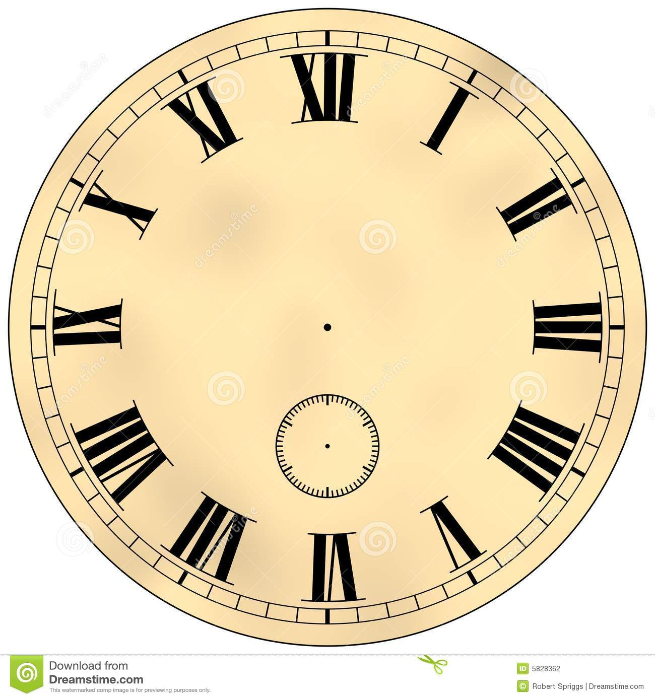 Antique Clock Clipart - Clipart Kid