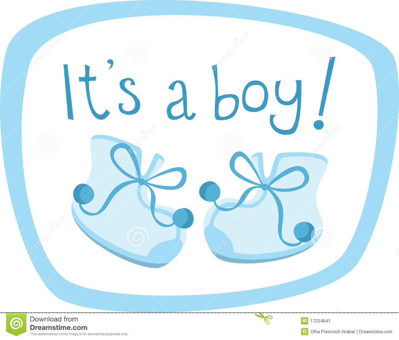 Blue Baby Boy Clipart - Clipart Kid