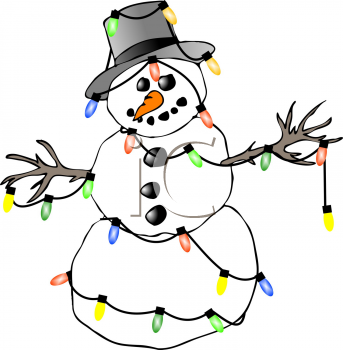 Clipart Illustrations   Graphics   Christmas Snowman 031 Tnb Png