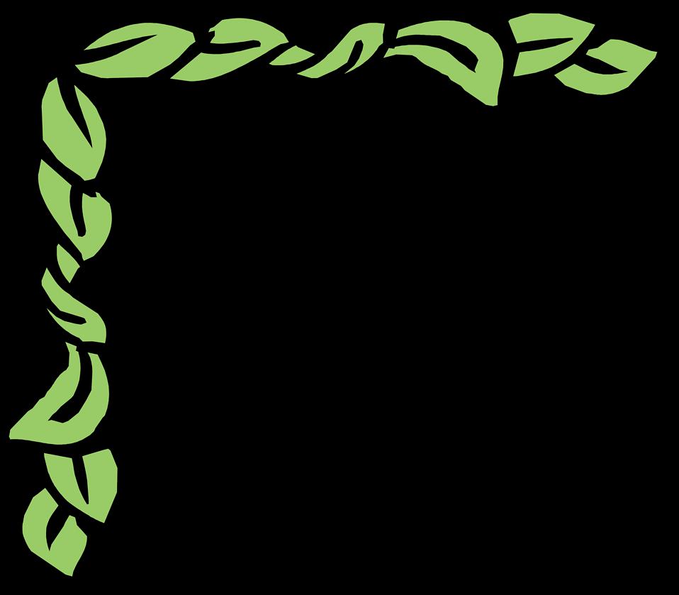 Green Leaves Border Clip Art   Clipart Panda   Free Clipart Images