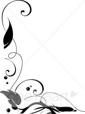 Leaves Clipart Black And White Border   Clipart Panda   Free Clipart