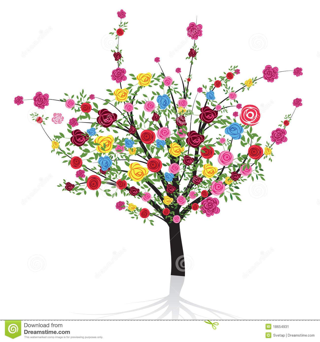 flowering tree clipart - photo #34