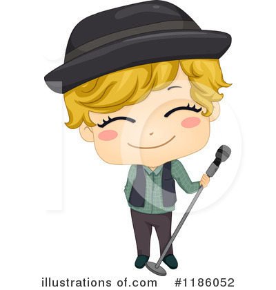 Singer Clipart  1186052 By Bnp Design Studio   Royalty Free  Rf  Stock