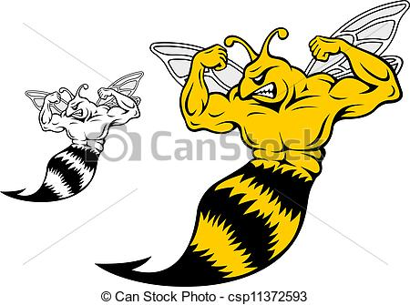 Yellow Jacket Clipart Can Stock Photo Csp11372593 Jpg