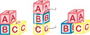Abc Blocks Stacked Clip Art Royalty Free Clipart Picture Pictures To