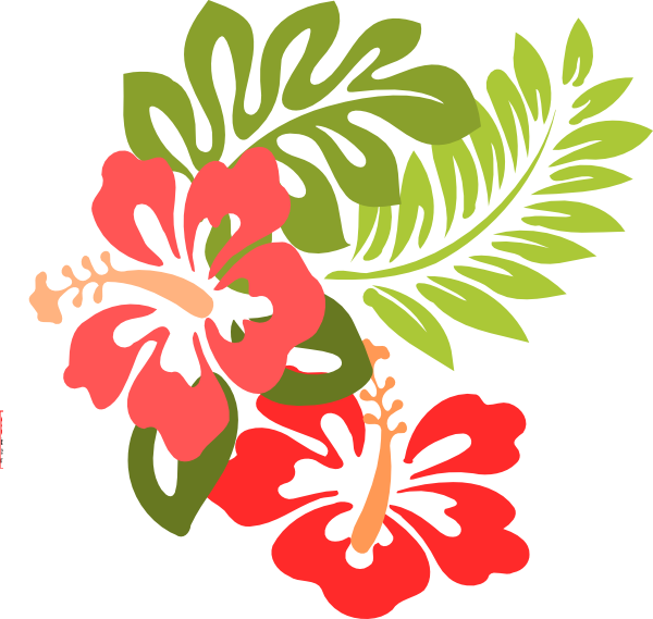 free clip art hawaiian christmas - photo #45