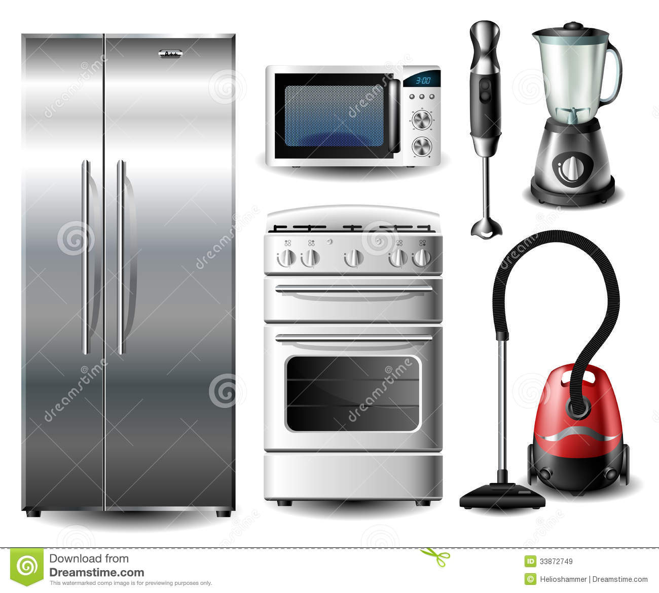 Kitchen Appliances Clip Art ~ Kitchen appliance clipart suggest