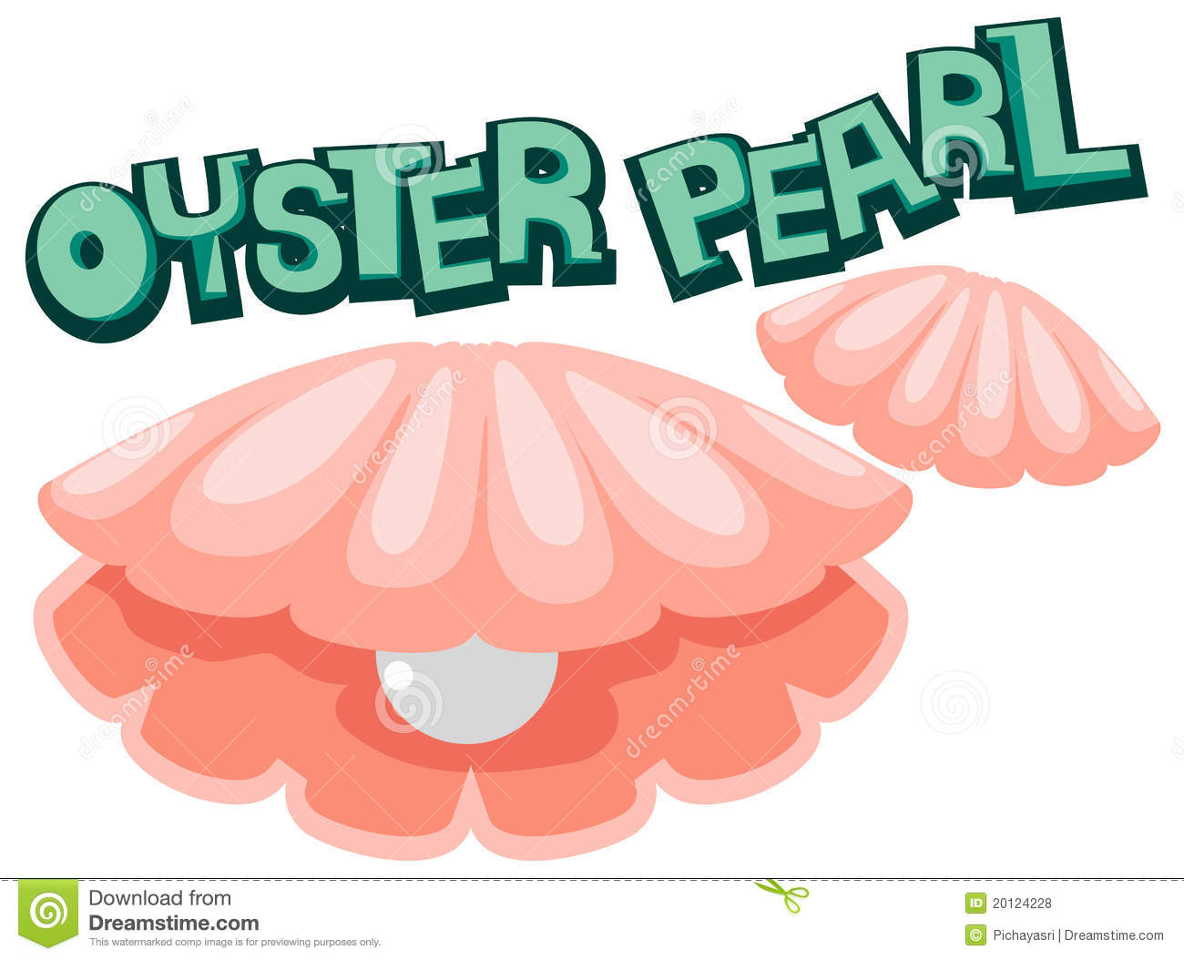 Oyster Pearl Royalty Free Stock Photos   Image  20124228