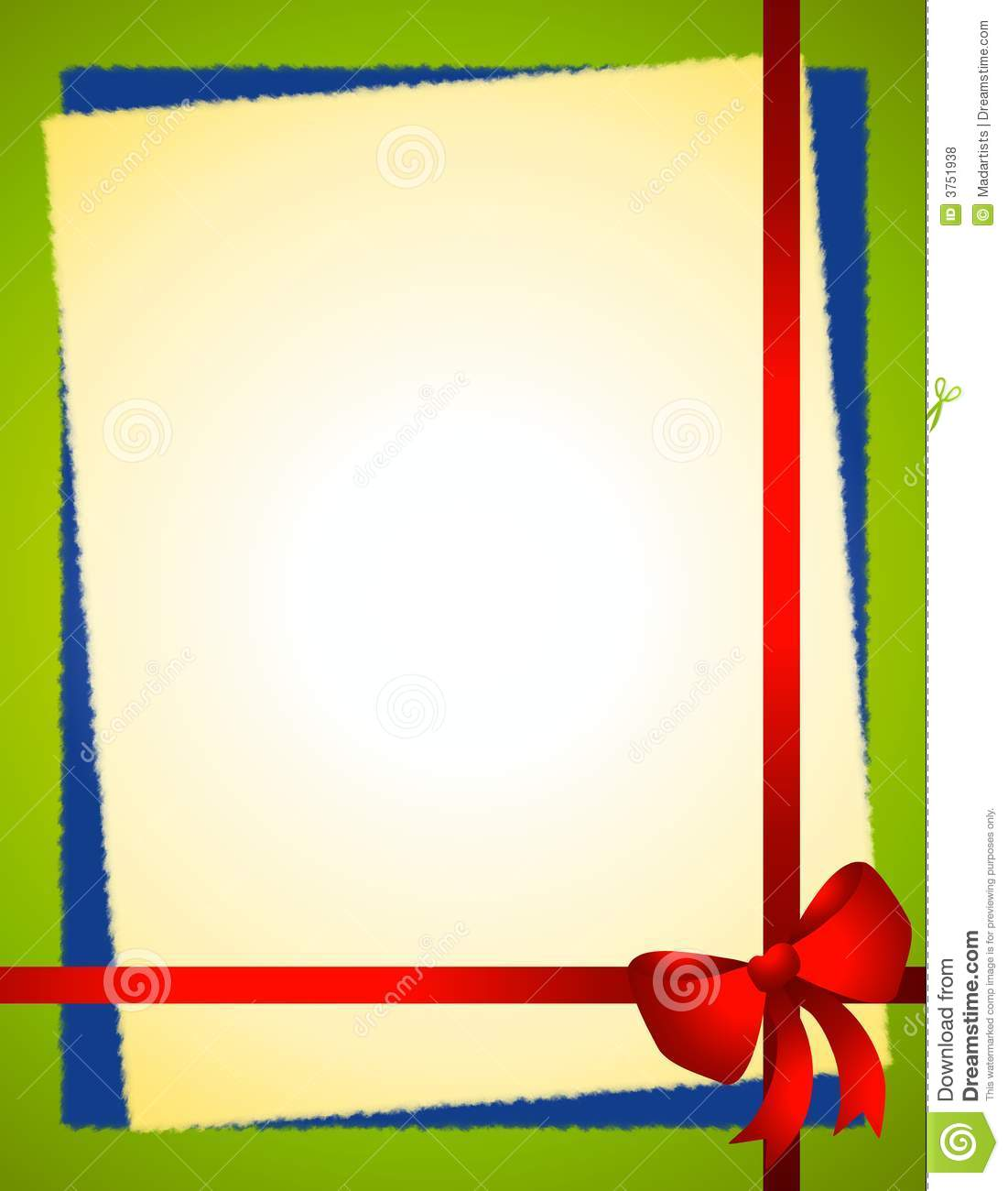 Blue Bow Border Clipart - Clipart Kid