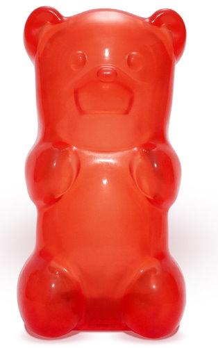 Red Gummy Bear Night Light Picture