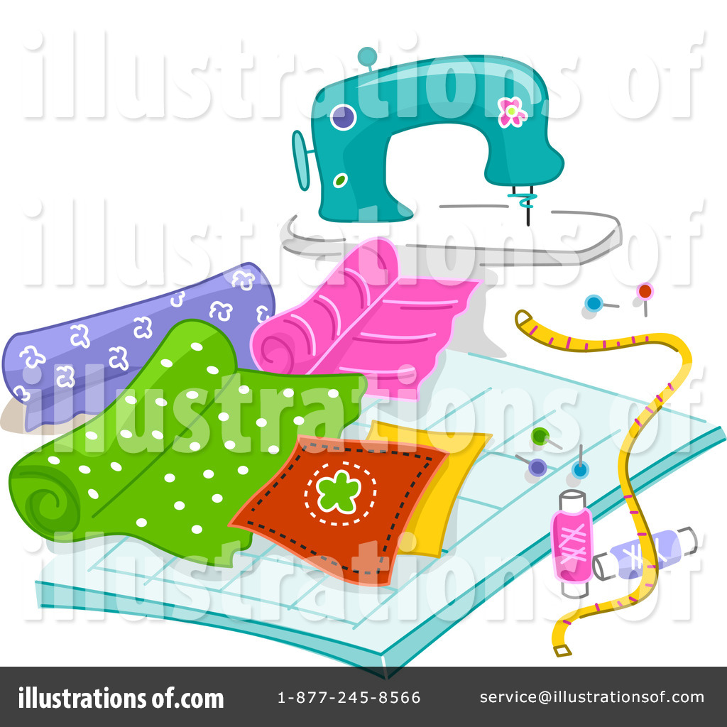 Royalty Free  Rf  Sewing Clipart Illustration  1094791 By Bnp Design