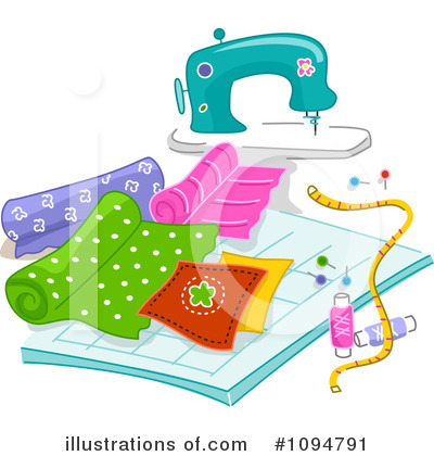Royalty Free Sewing Clipart Illustration 1094791 Jpg