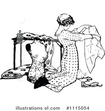 Royalty Free Sewing Clipart Illustration 1115054 Jpg