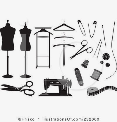 Royalty Free Sewing Clipart Illustration 232000 Jpg
