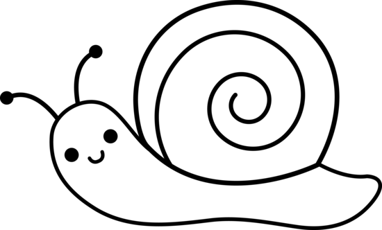 Snail Clipart Black And White   Clipart Panda   Free Clipart Images