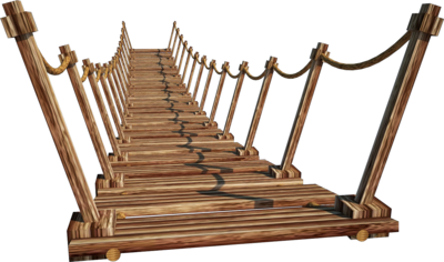 Wooden Bridge 2 A   Suspension Bridge 2 A   Png By Fumar Porros