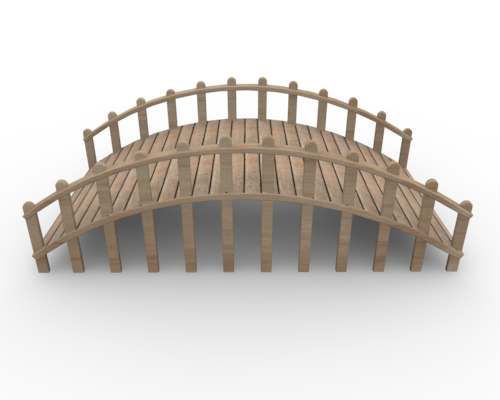 Wooden Bridge Clip Art Small Bridge