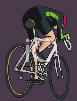 0511 0809 1817 3768 Bicycle Racer Clipart Image Jpg