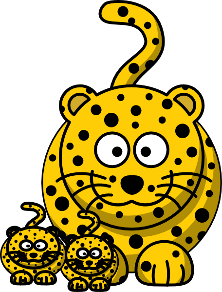 Baby Cheetah Clipart   Clipart Panda   Free Clipart Images