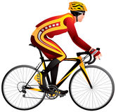 Bicycle Racer Cycle Race Derby Royalty Free Stock Photo