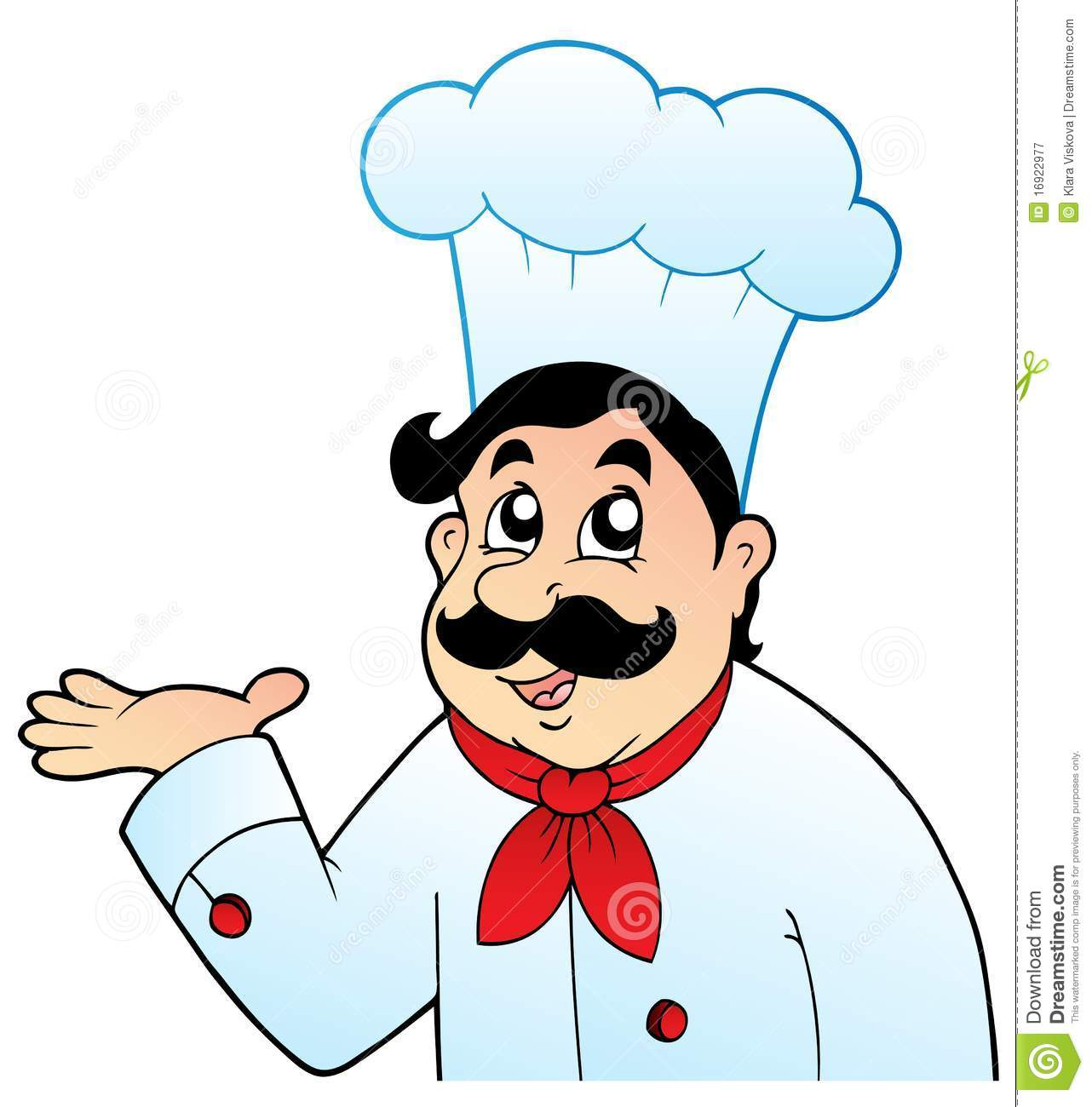 Cartoon Chef Clipart - Clipart Kid