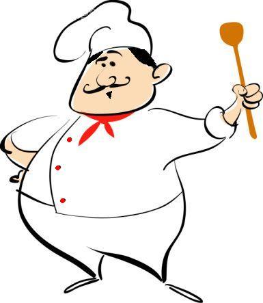 Chef Cartoon Clipart - Clipart Kid