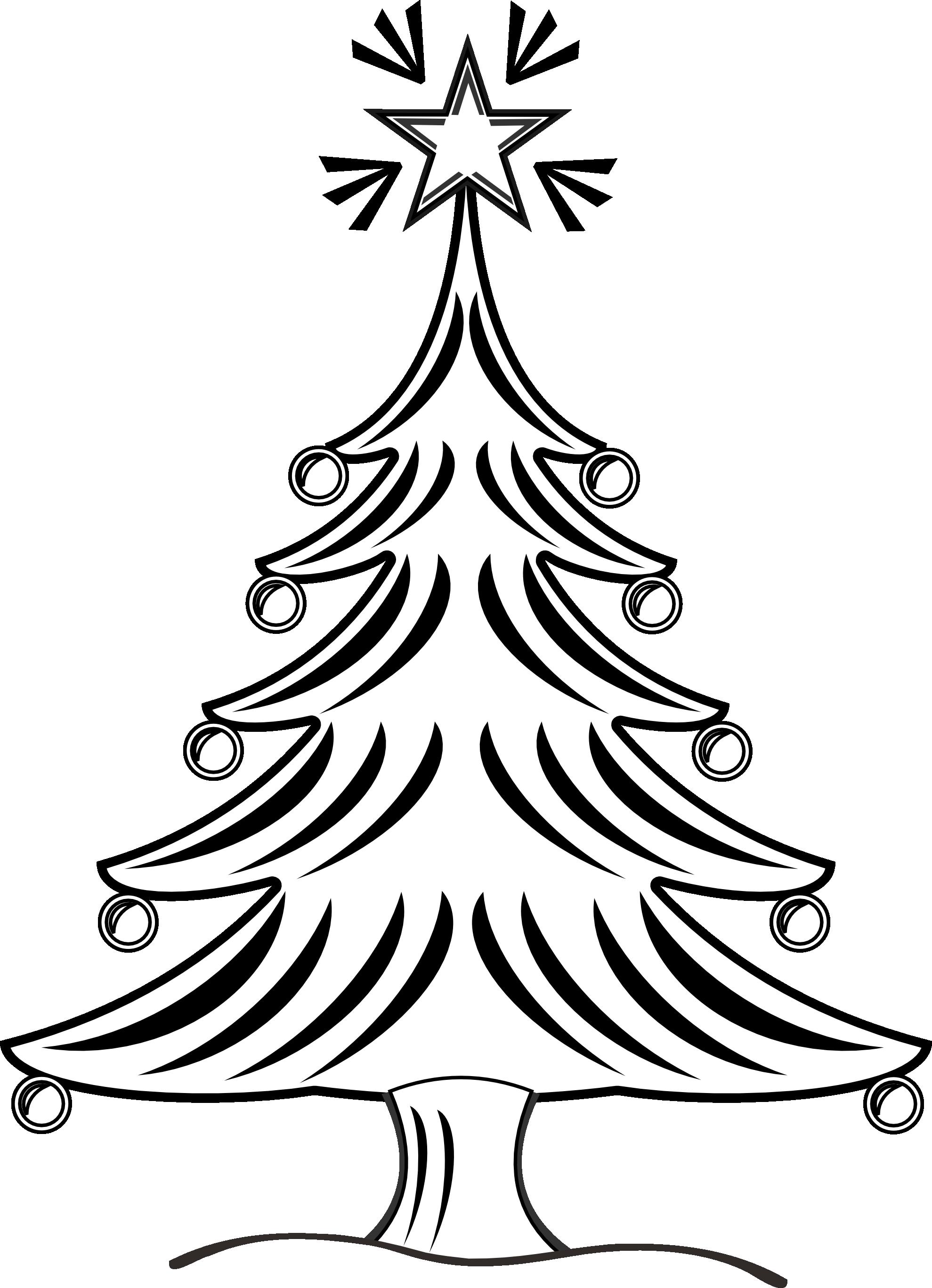 Christmas Border Clipart Black And