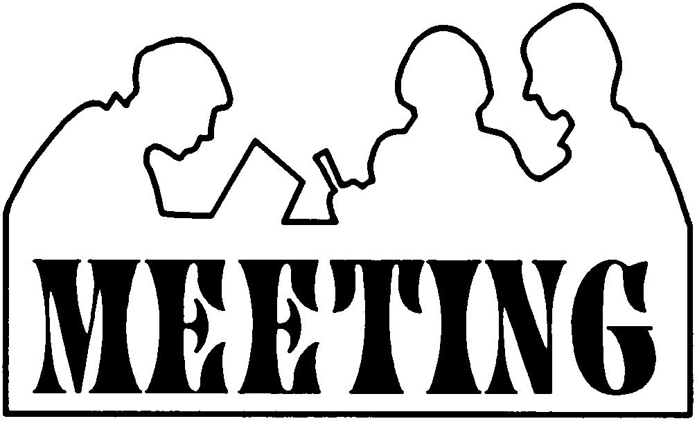 free church meeting clipart - photo #11