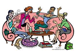Game Night Ladies Night Out Clipart - Clipart Kid
