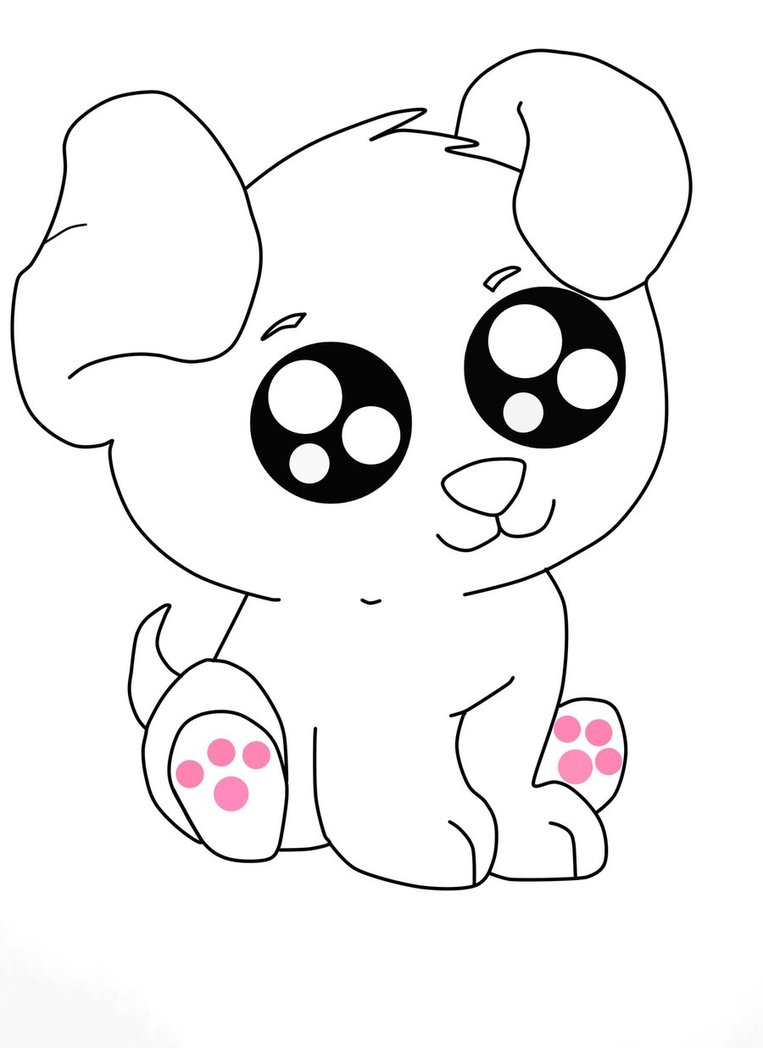 Cute Puppy Sketch Free Cliparts That You Can Download To You