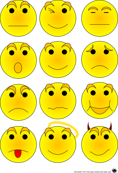 Emoticons Clip Art At Clker Com   Vector Clip Art Online Royalty Free